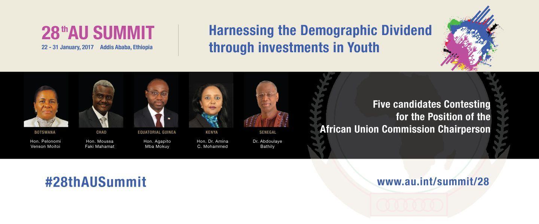 28th AU Summit - AUC Leadership Elections