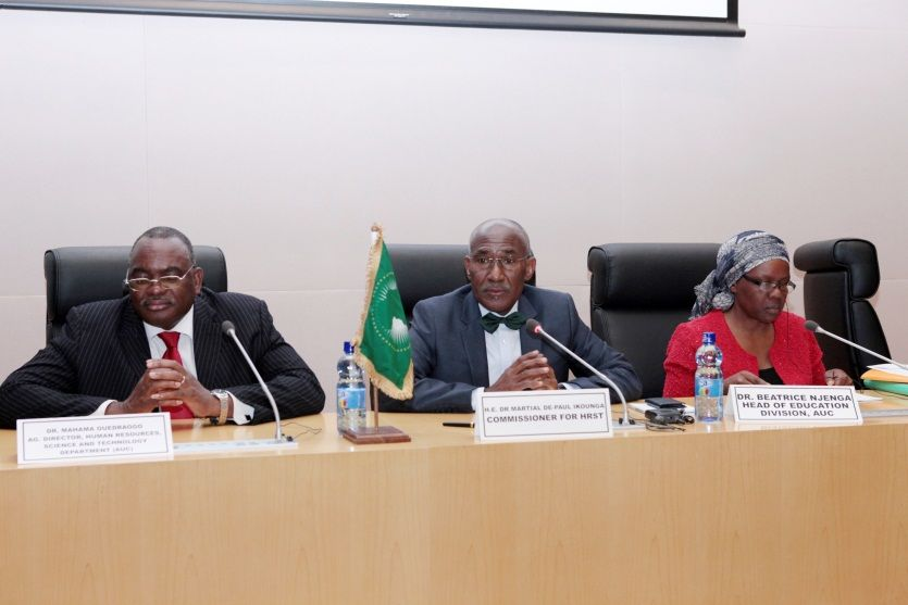 AUC hosts the first task force Meeting on the Pan African Virtual University