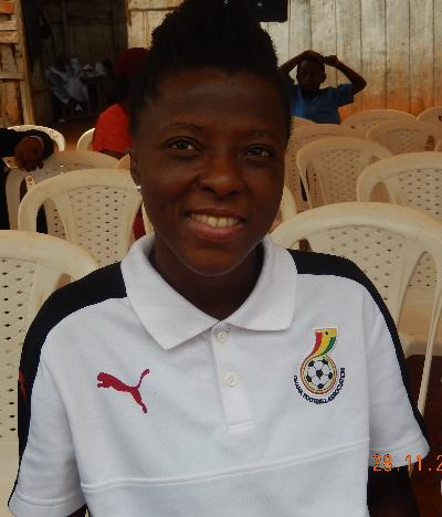 Pricilla Sachene football Champion – Black Queens of Ghana