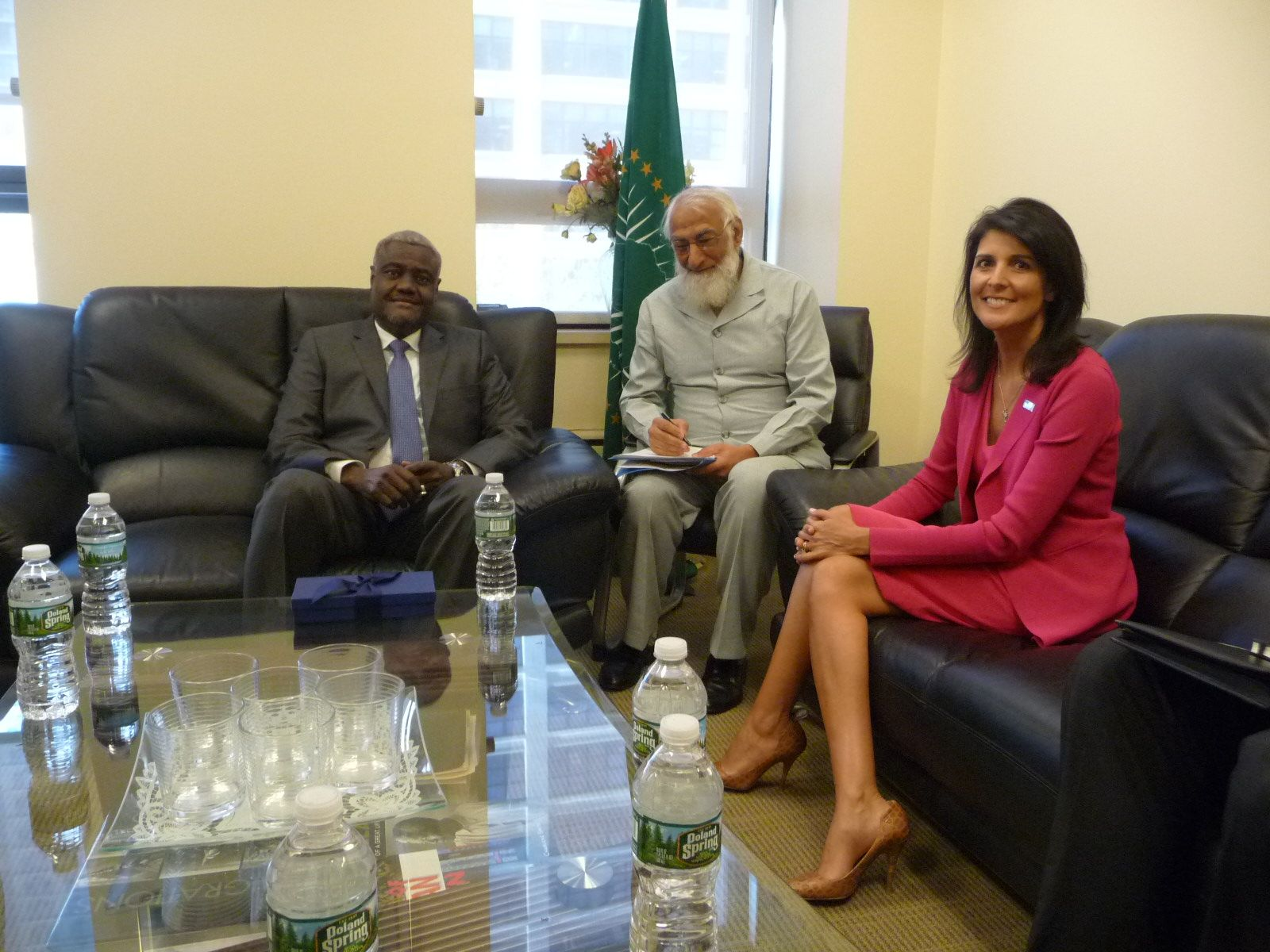 AU Commission Chairperson meets with the US Ambassador to the UN