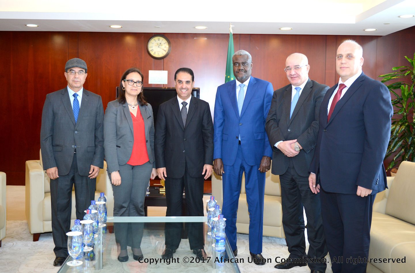 The Chairperson of the African Union Commission HE Moussa Faki Mahamat received a delegation of the Council of Arab Ambassadors accredited to the African Union.