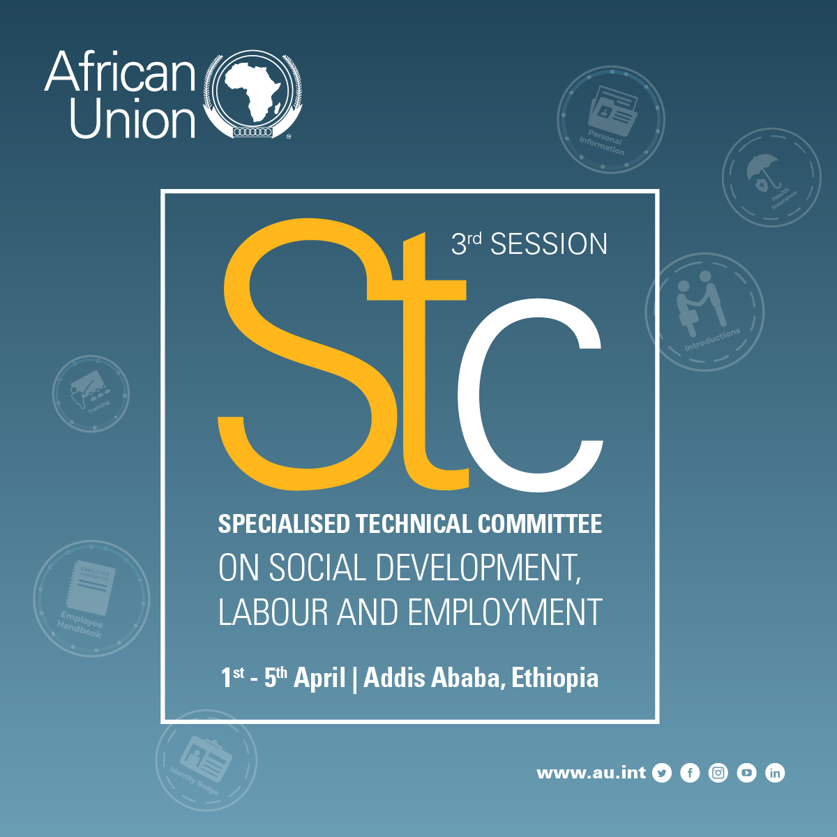 One step forward for the future of work in Africa: African Union and International Labour Organization hosted a ministerial side meeting on the Future of work