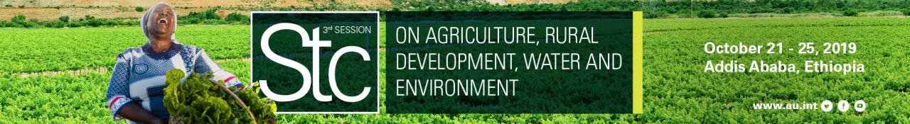 3rd STC on Agriculture, Rural Development, Water and Environment