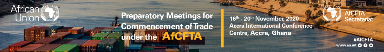 Preparatory Meetings for Commencement of Trading under the AfCFTA