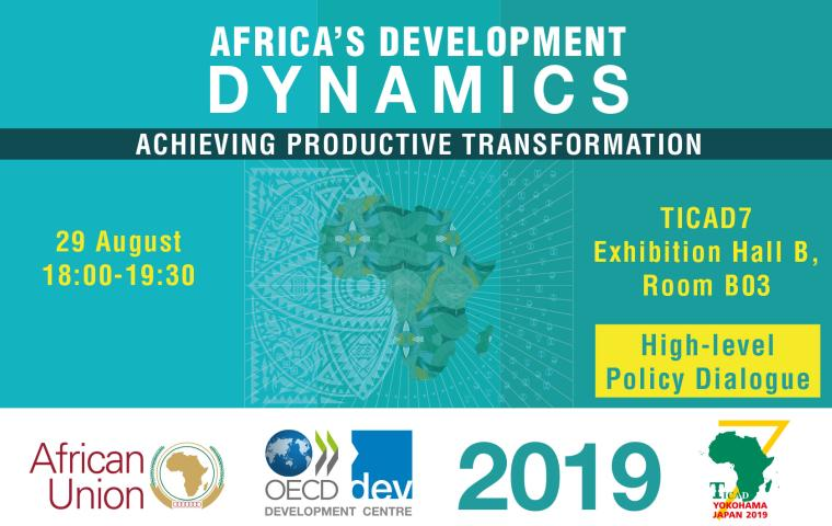 TICAD7: High Level Dialogue on Africa's Development Dynamics - Achieving Productive Transformation