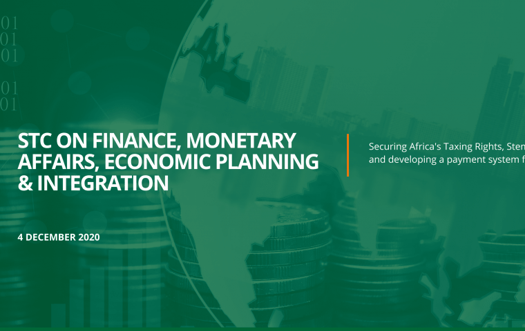 Extraordinary STC on Finance, Monetary Affairs, Economic Planning & Integration