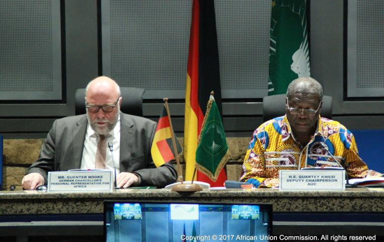 African Union and Germany agree on further cooperation in