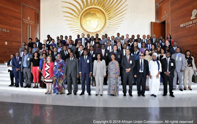 The African Union Commission launches the first Africa