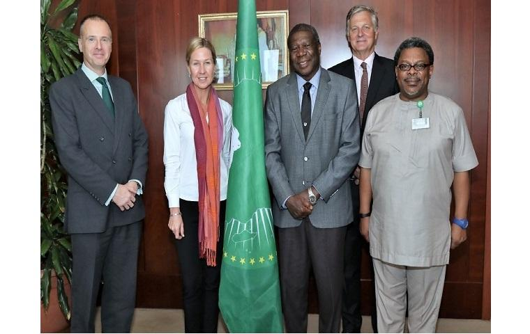 The Deputy Chairperson of the AU Commission received lecturers from