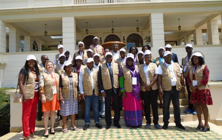 Election Mozambique Group photo