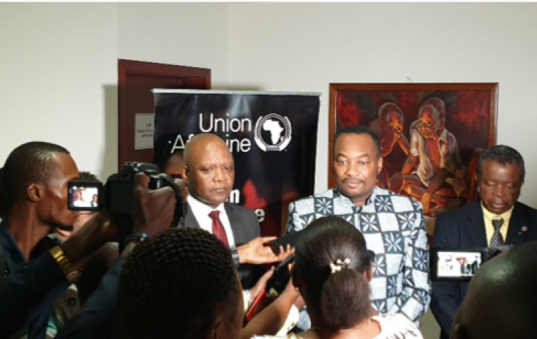 DRC government lends its support to the Africa Against Ebola Forum and pledges to continue working with the African Union to fight Ebola