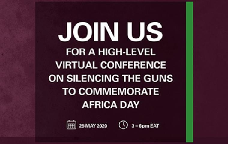 """Conférence virtuelle de haut niveau sur le thème """"Faire taire les armes"""""""