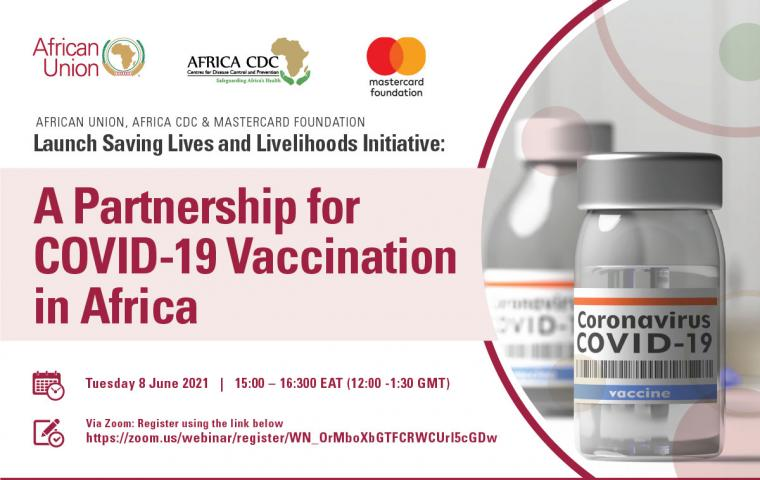 Africa CDC, Mastercard Foundation Partnership Announcement