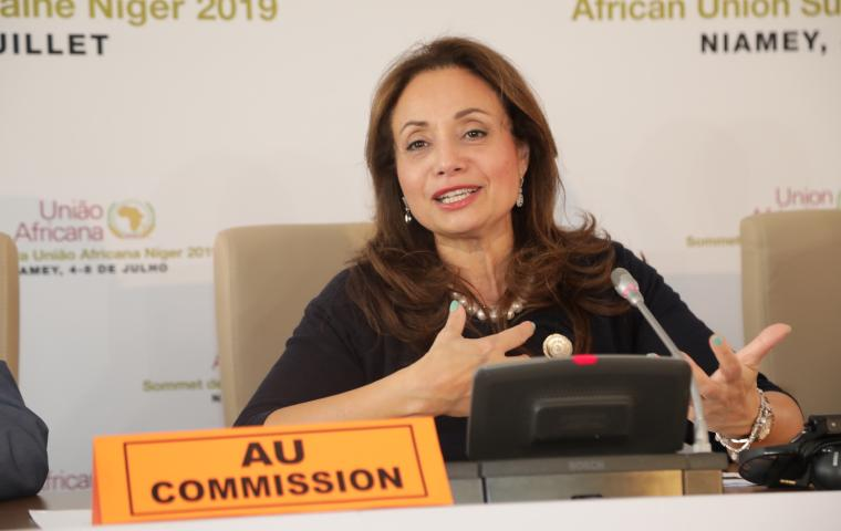 Press Conference of H.E Dr. Amani Abou-Zeid, Commissioner for Infrastructure and Energy