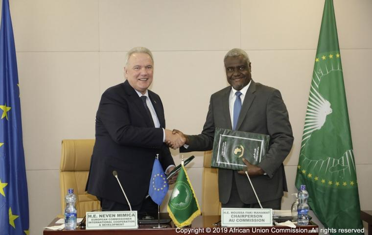 AU Peace & Security Operations boosted by an additional €800 million from the EU
