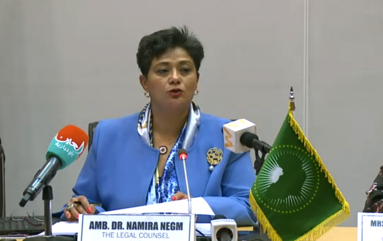 Press Briefing: Amb. Dr. Namira Negm, AUC Legal Counsel