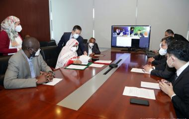 The African Union and Ministry of Commerce of China on the Project of the AfricaCDC Headquarters Building (Phase I)