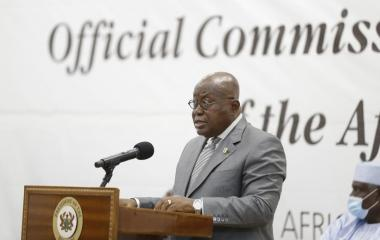 Ghana President Speech at the Handover Ceremony of the AfCFTA Buildings