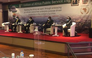 Remarks By H.E. Amb. Bankole Adeoye Commissioner For PAPS