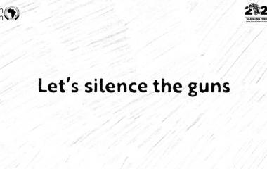 My Pledge for Peace Campaign for Silencing the Guns