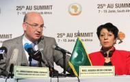 Press briefing of the Commissioner for Peace and Security, AU Commission (Monday 15th June 2015 at 12h00)