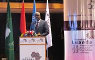 Official opening of the Biennale of Luanda Pan African Forum for the Culture of Peace. 18-22 September, Luanda, Angola.