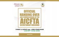 Official hand over and Commissioning of the AfCFTA Secretariat Building