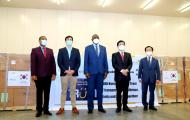 Republic of Korea gives 2 million Masks to the African Union for the COVID19 response