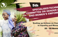Meeting of African Ministers expected to adopt far-reaching decisions to advance the gender agenda in Africa.