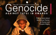 The 25th Commemoration of the 1994 Genocide Against Tutsi in Rwanda