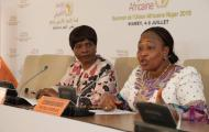Press Conference: H.E. Cessouma Minata Samate, Commissioner for Political Affairs