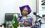 Press Briefing: H.E. SAMATE Cessouma Minata, Commissioner for Political Affairs