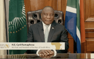 AU Chair H.E. Cyril Ramaphosa spreads hope as the continent marks Ramadaan
