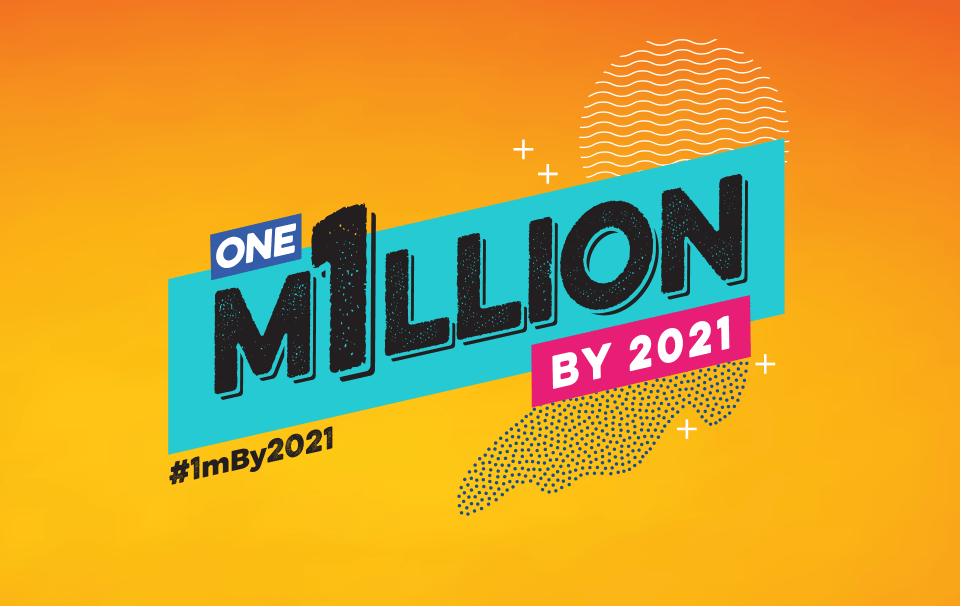 1 Million By 2021