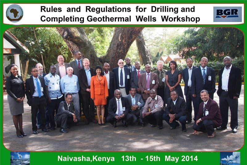 Workshop on Rules and Regulations for Drilling and ...
