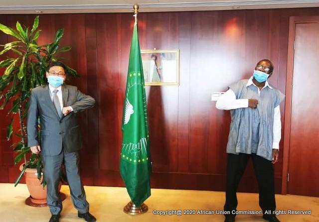 Chinese Ambassador Meets the Deputy Chairperson over the Attack on Africans in China