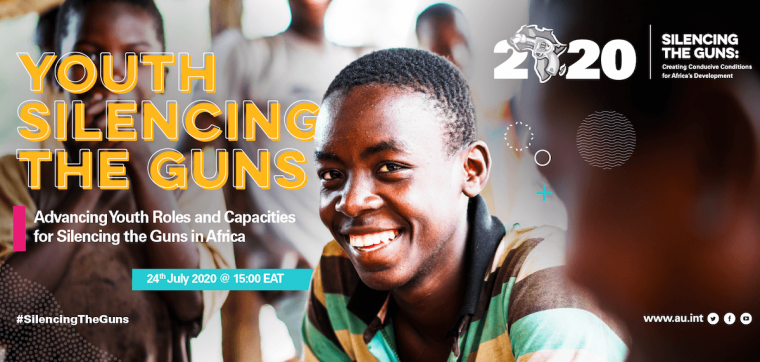 Launch of Youth Silencing the Guns Campaign