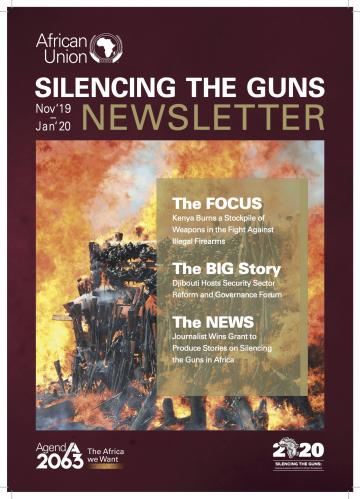 Newsletter: Silencing the Guns activities, November 2019 - January 2020