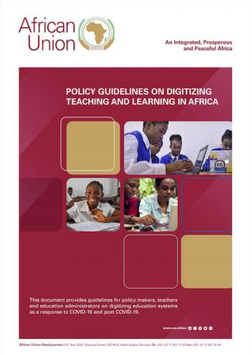 Policy Guidelins on Digitizing Teaching and Learning in Africa
