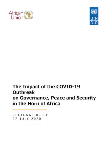 The Impact of the COVID-19 Outbreak on Governance, Peace and Security in the Horn of Africa