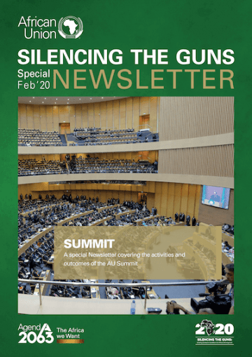 Silencing The Guns Special Feb'20 Newsletter