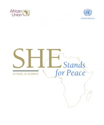 She Stands For Peace