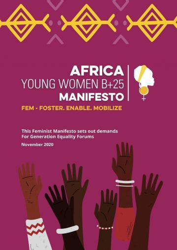 Africa Young Women Beijing+25 Manifesto