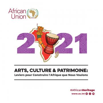 Thème de l'année 2021 Arts, Culture et Patrimoine