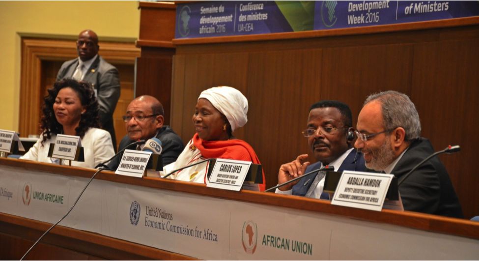Joint AUC/ECA Press Conference on Ministerial Meeting of Finance, Planning, Economic Development and Integration
